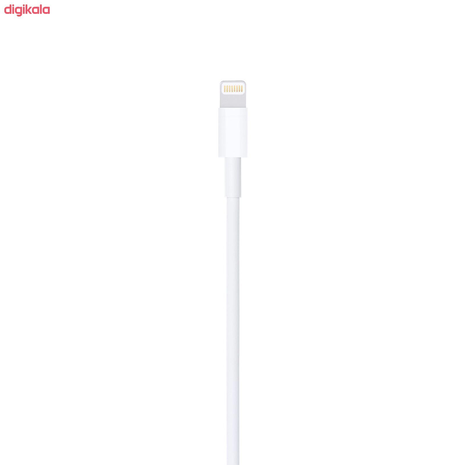 کابل تبدیل USB به لایتنینگ مدل MD818M/ZQ طول 1 متر main 1 3