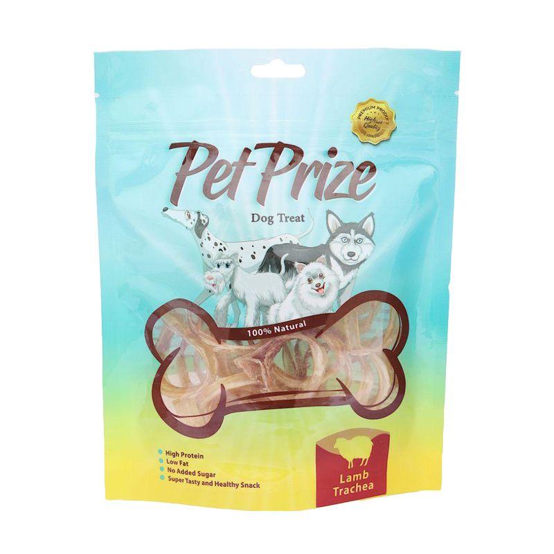 غذای تشویقی سگ پت پرایز مدل Lamb Trachea وزن 50 گرم