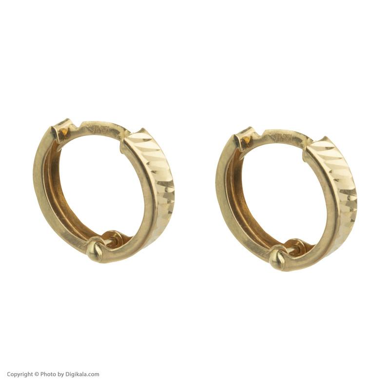گوشواره طلا 18 عیار زنانه کانیار گالری کد GSH2