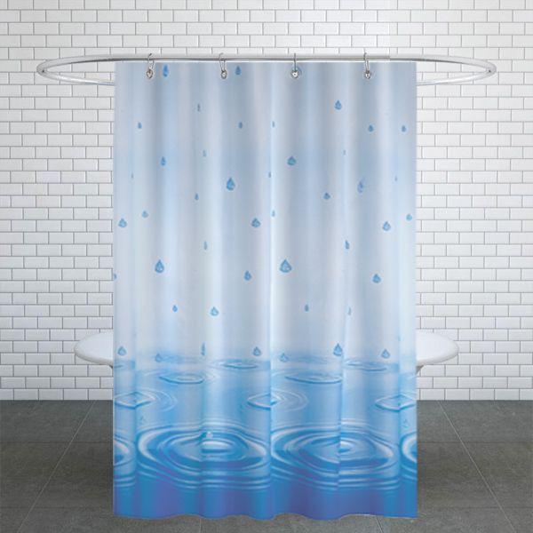 پرده حمام دلفین کد jack-50200 v1 سایز 200×180 سانتی متر