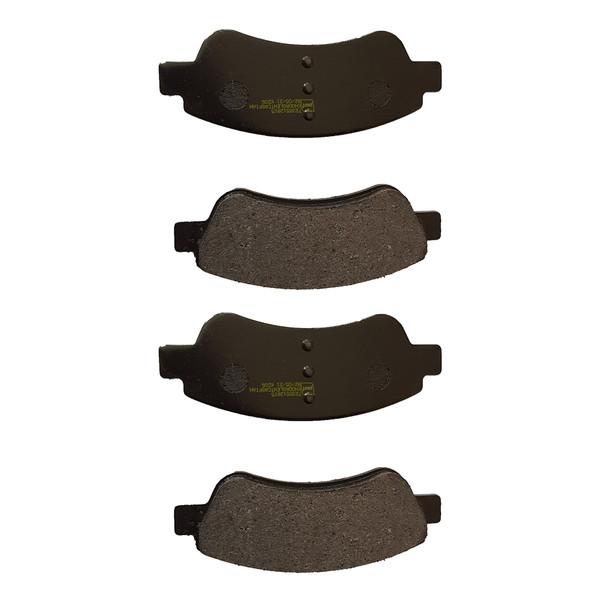 لنت ترمز جلو کاسپین مدل 7235512915KD17-1 مناسب برای پژو 206 تیپ 5