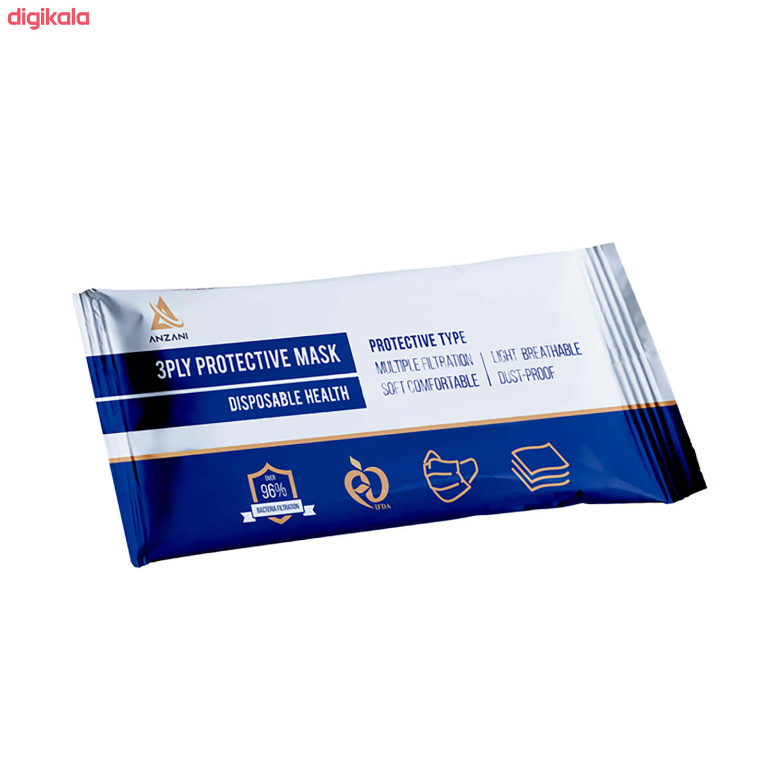 ماسک تنفسی انزانی مدل EGR12 بسته 10 main 1 3