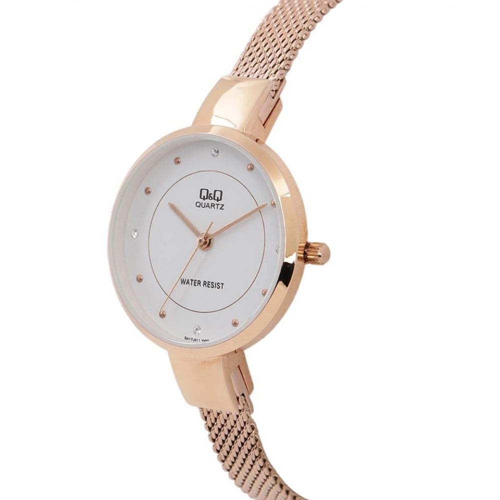 خرید و قیمت                      ساعت مچی  زنانه کیو اند کیو مدل qa17j011y