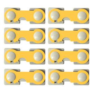 قفل درب کابینت مدل A02 بسته 8 عددی
