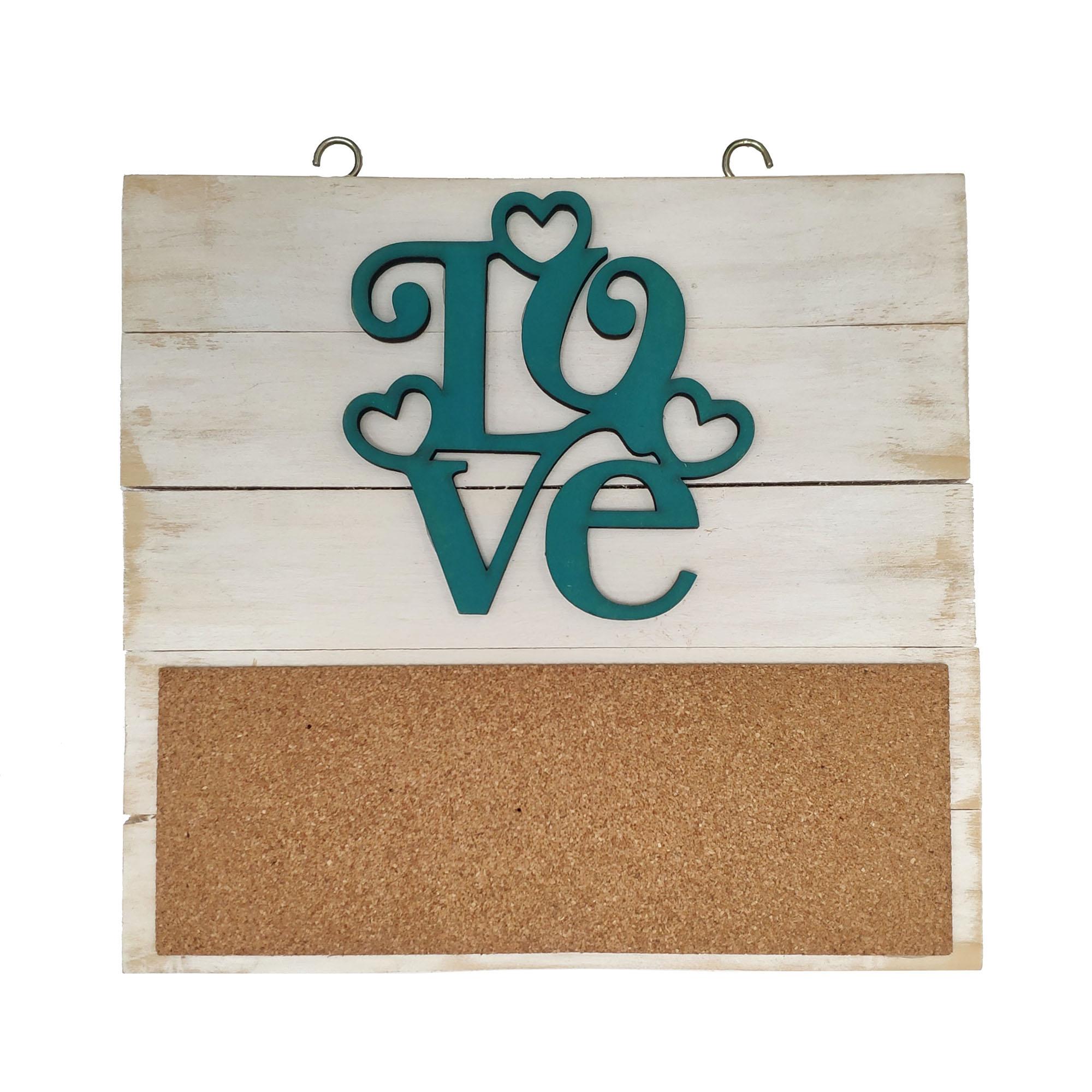 آویز چوبی مدل عشق کد ۰۰۲
