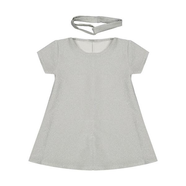 ست پیراهن و تل مو دخترانه تودوک مدل 2151261-90