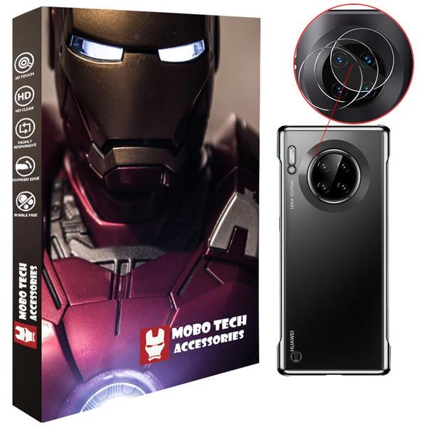 محافظ لنز دوربین موبو تک مدل LNZG-HMTE30PR-3 مناسب برای گوشی موبایل هوآوی Mate 30 Pro  بسته سه عددی
