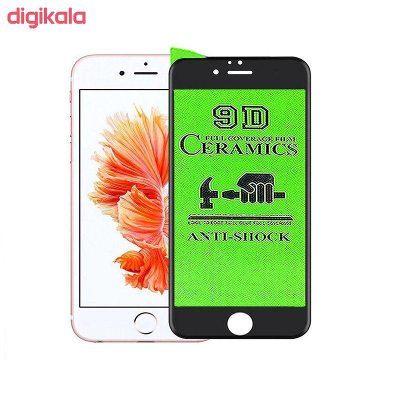 محافظ صفحه نمایش 9D مدل CRA-I6P مناسب برای گوشی موبایل اپل iphone 6plus main 1 1