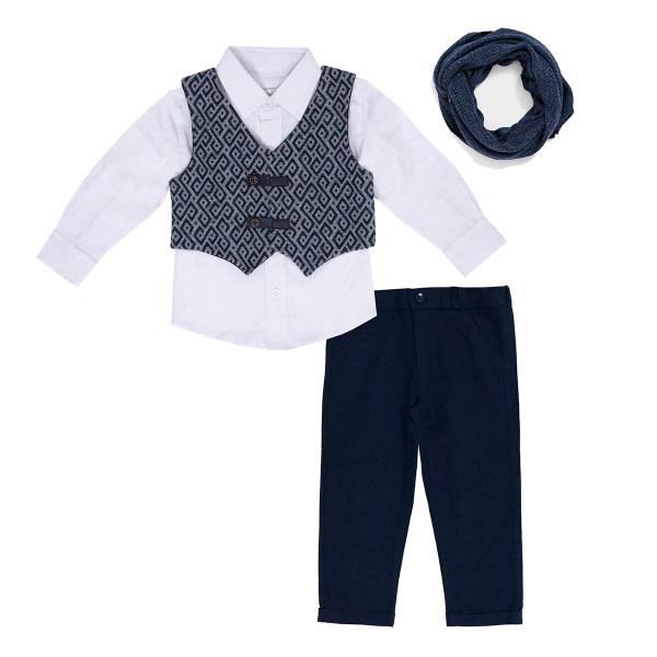 ست 4 تکه لباس نوزادی فیورلا مدل 21201