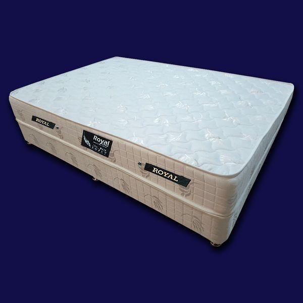 تخت خواب دو نفره رویال کد BP05 سایز 200 × 160 سانتیمتر