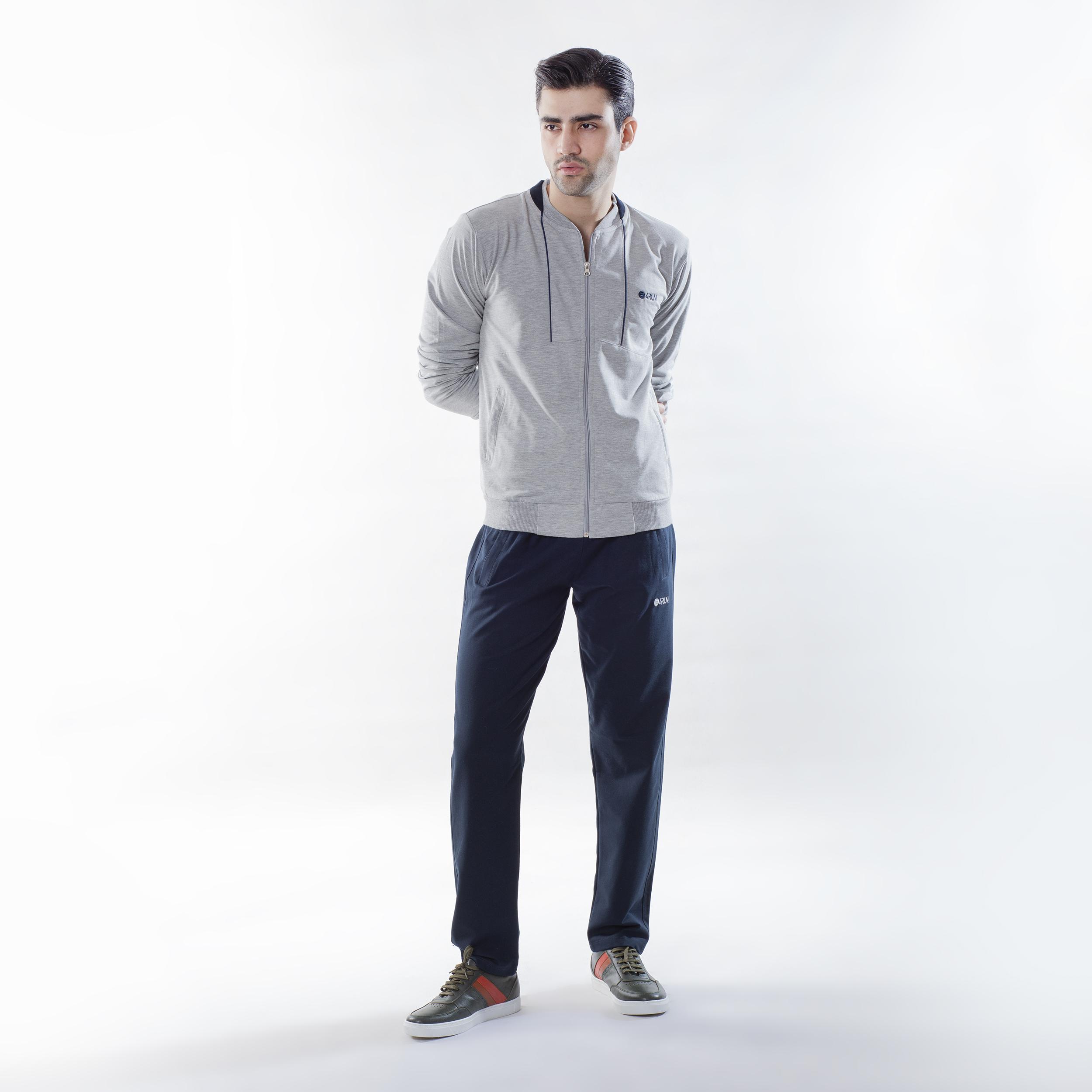 ست سویشرت و شلوار ورزشی مردانه بی فور ران مدل 210111-93