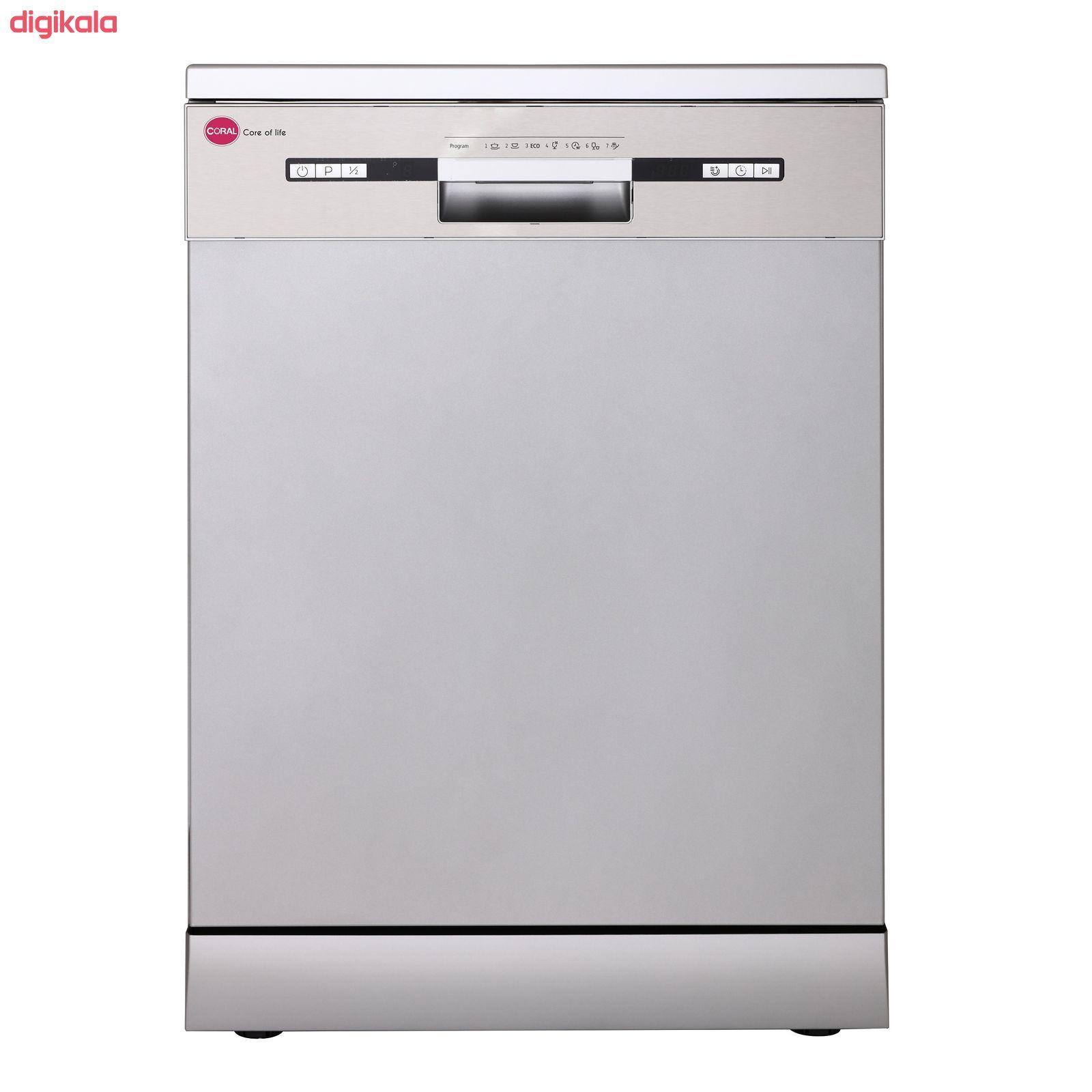 ماشین ظرفشویی کرال مدل DS 1417 main 1 1