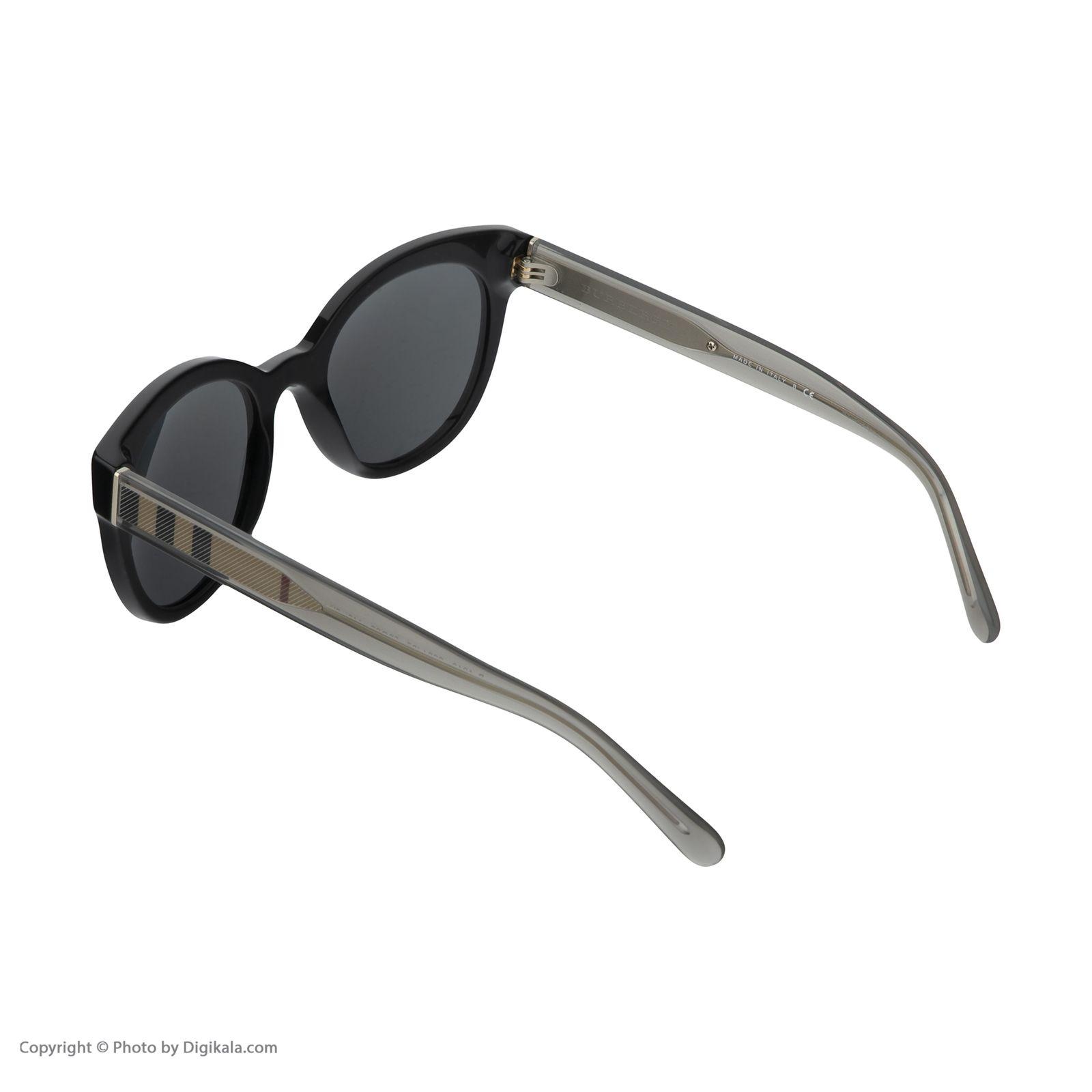 عینک آفتابی مردانه بربری مدل BE 4210S 300187 52 -  - 5