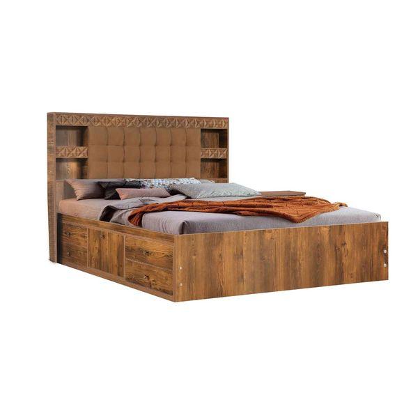 تخت خواب دو نفره کد 205 سایز 200x160 سانتی متر