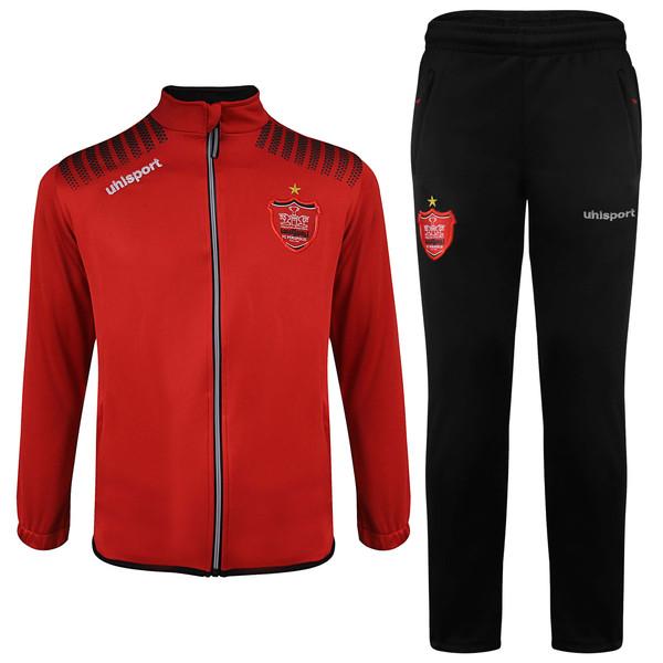 ست گرمکن و شلوار  ورزشی مردانه آلشپرت مدل پرسپولیس AFC 2021