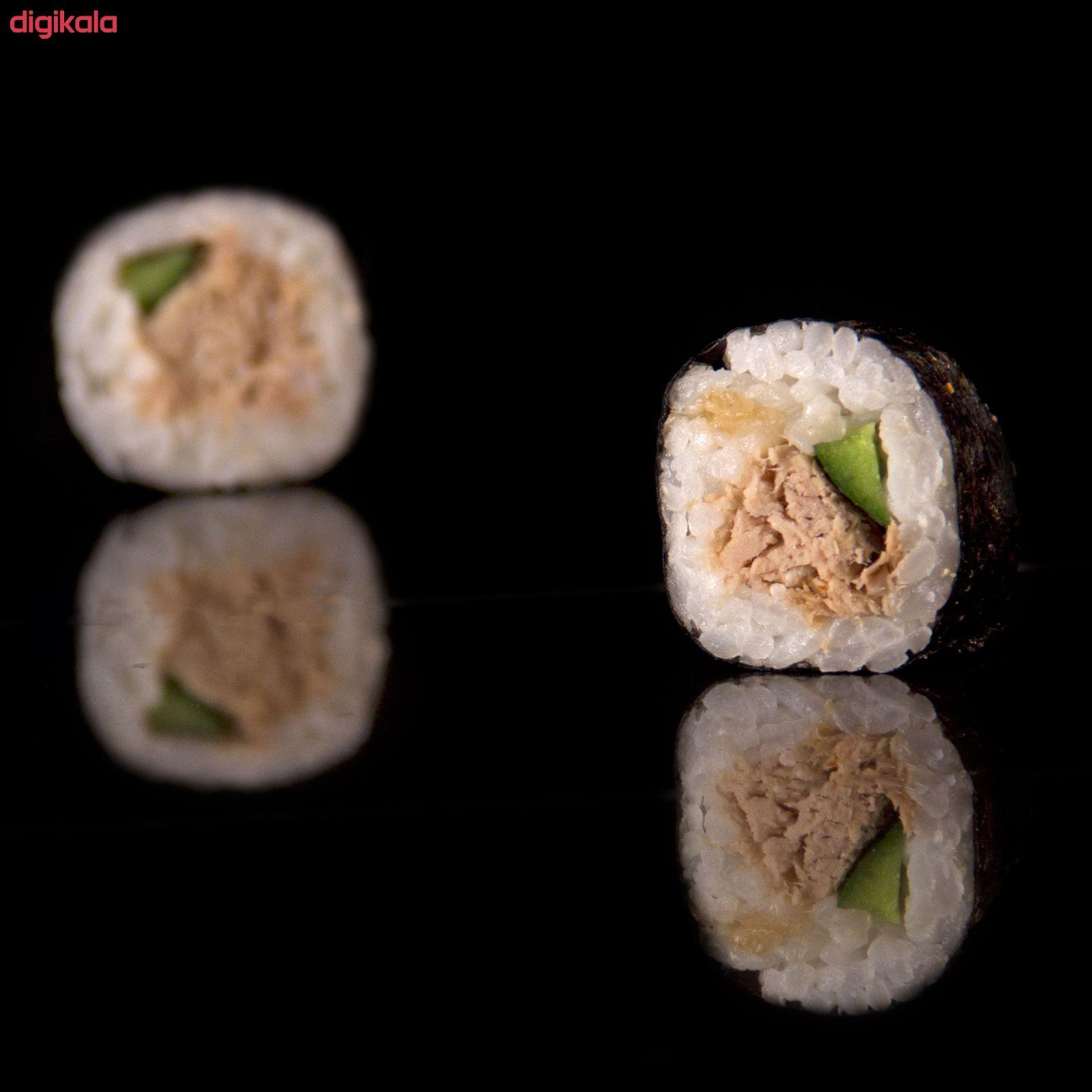 سوشی تن ماهی مزبار - رول 8 عددی main 1 2