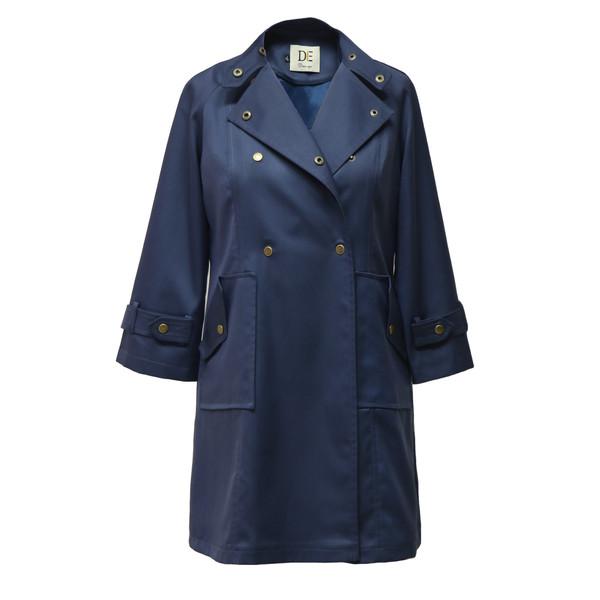 بارانی زنانه درس ایگو کد 10700018 رنگ سرمه ای