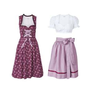 ست 3 تکه لباس دخترانه پیپرتس مدل ENR2020