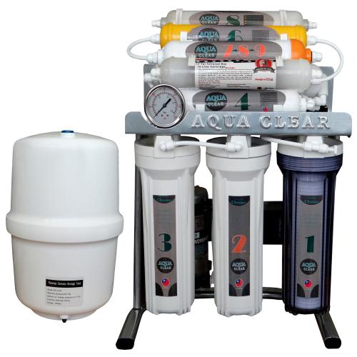 دستگاه تصفیه کننده آب آکوآ کلیر مدل CHROME - AC5707 به همراه فیلتر مجموعه 3 عددی