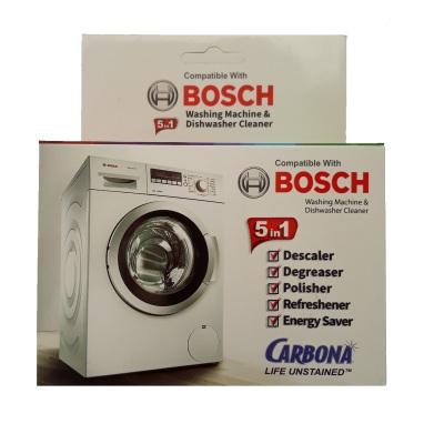 جرم گیر ماشین لباسشویی و ظرفشویی کاربونا مدل B50 وزن 250 گرم بسته 5 عددی