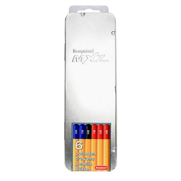 مداد طراحی برونزیل کد 1605m06 بسته 6 عددی