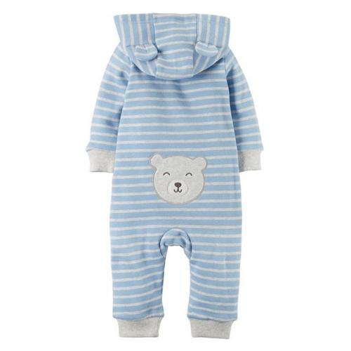 سرهمی نوزادی پسرانه کارترز طرح خرس کد k77