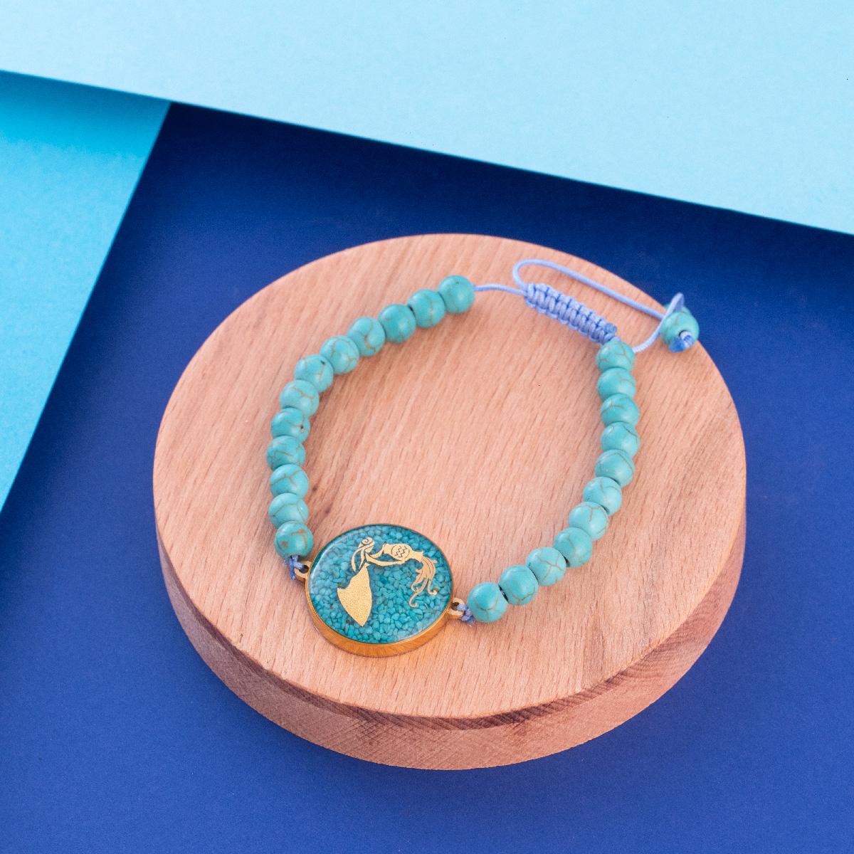 دستبند زنانه زرسام مدل ماه بهمن کد 10006983