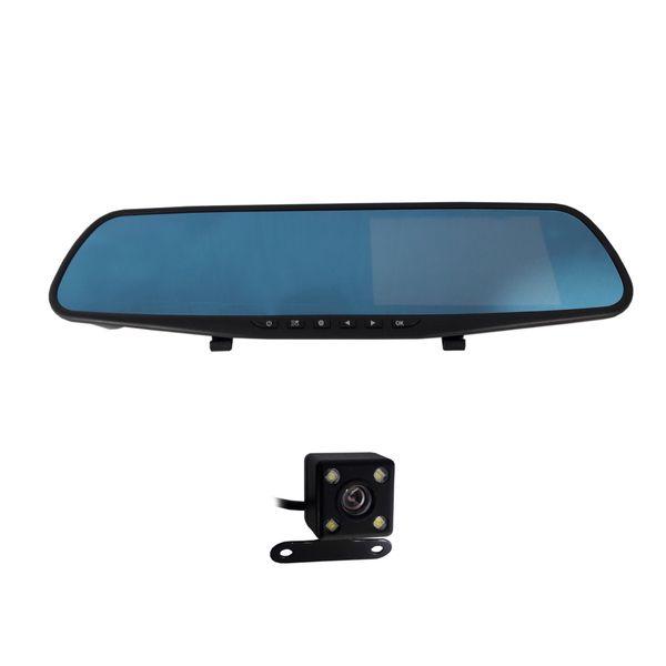 آینه مانیتور دار و دوربین دنده عقب خودرو کد TM4.3