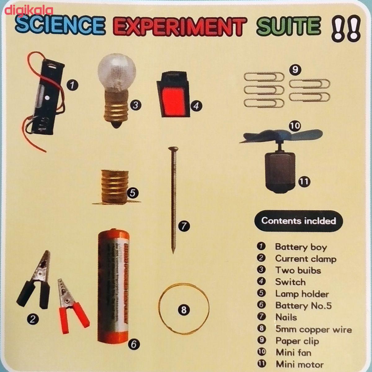 کیت آموزشی مدل مدار لامپ و آرمیچر کد MQ3 main 1 2