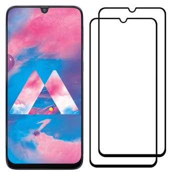 محافظ صفحه نمایش مدل FCG مناسب برای گوشی موبایل سامسونگ Galaxy A40s بسته دو عددی