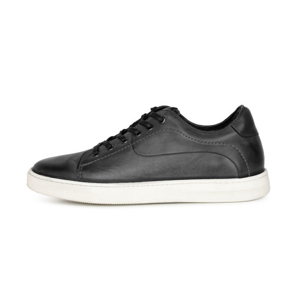 کفش روزمره مردانه چرم کروکو مدل 0001010194