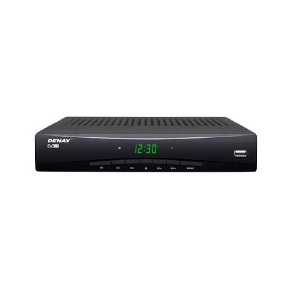گیرنده دیجیتال DVB-T دنای مدل STB1013H به همراه کابل AV