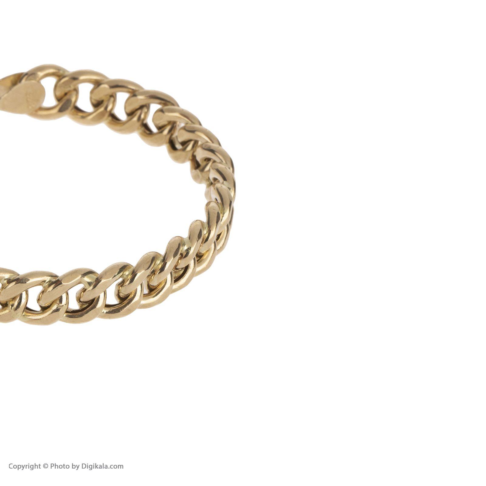 دستبند النگویی طلا 18 عیار زنانه مایا ماهک مدل MB1049 -  - 4