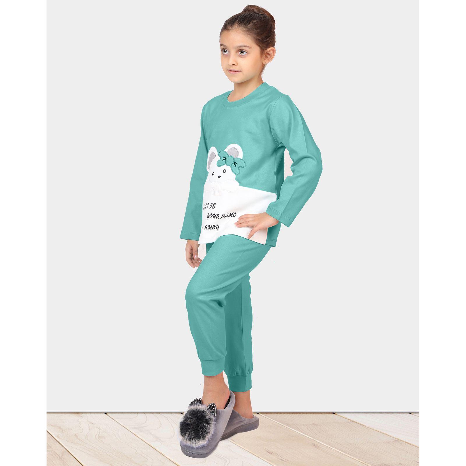ست تی شرت و شلوار دخترانه مادر مدل 301-54 main 1 13
