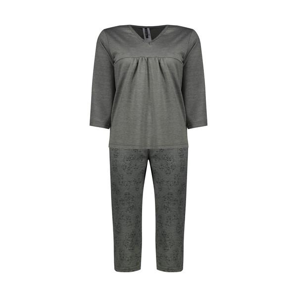 ست تی شرت و شلوارک زنانه کیکی رایکی مدل BB6300-008