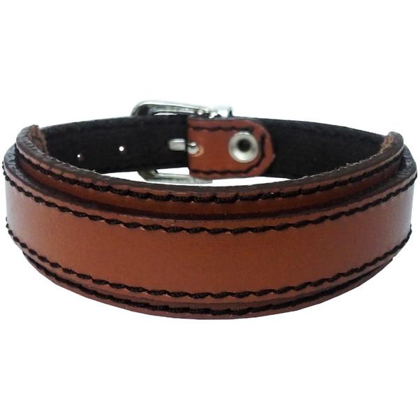 دستبند چرم وارک مدل رهام کد rb213