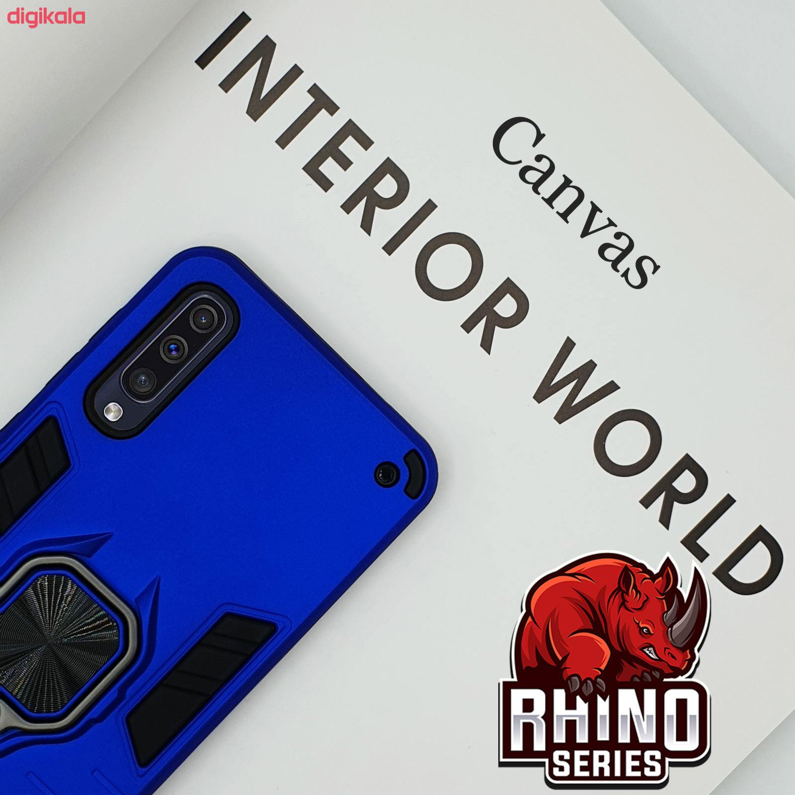 کاور کانواس مدل RHINO SERIES مناسب برای گوشی موبایل سامسونگ Galaxy A50s/A30s/A50 main 1 2