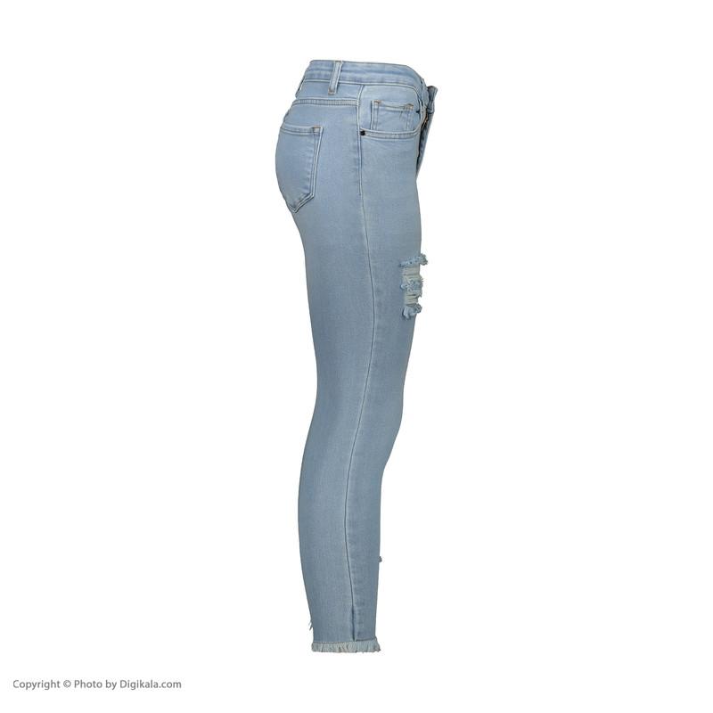 شلوار جین زنانه اکزاترس مدل I031001077080099-077