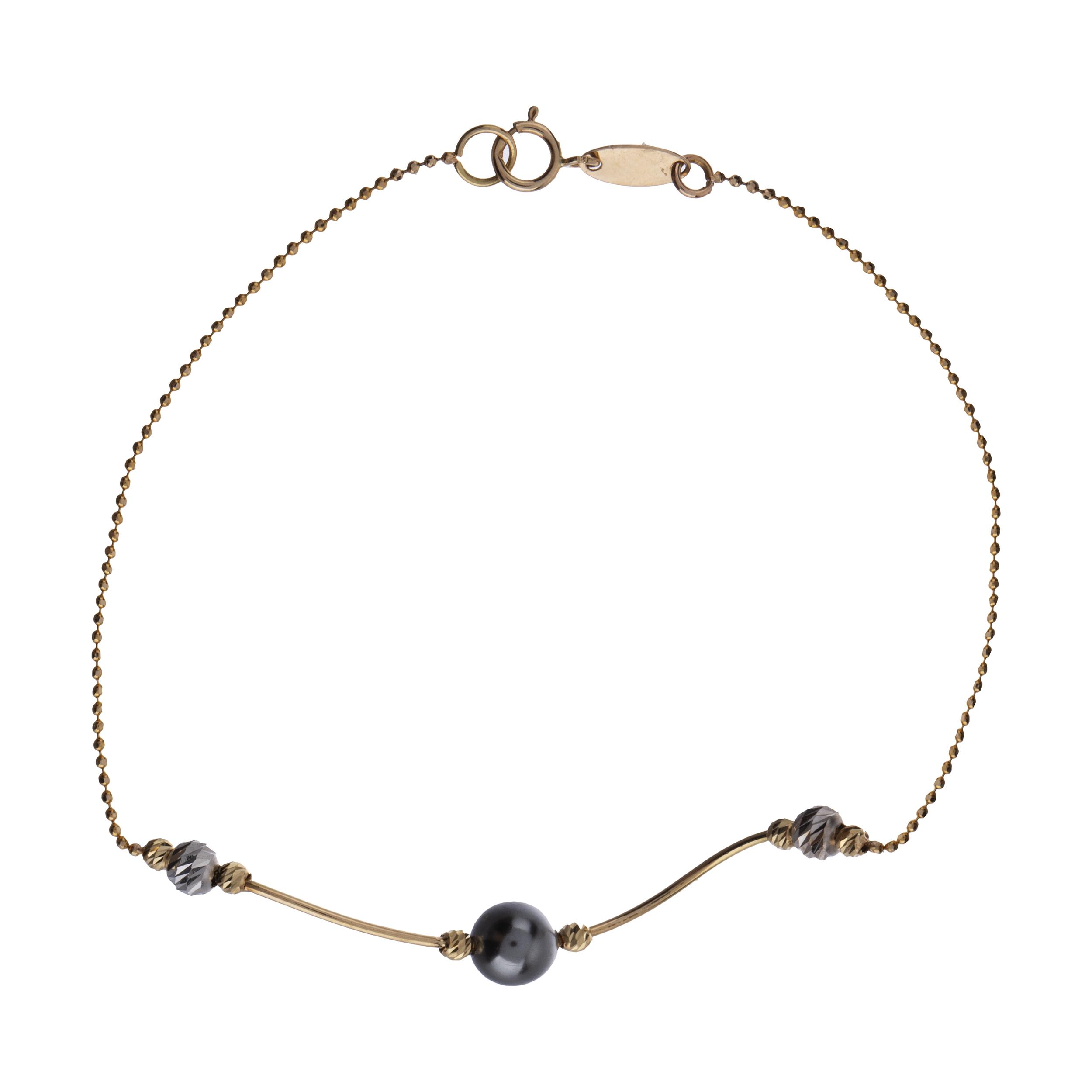 دستبند طلا 18 عیار زنانه سیودو مدل 144266 -  - 2