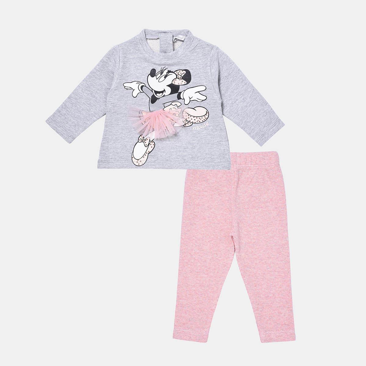 ست تیشرت و شلوار نوزادی فیورلا مدل مینی دامنی کد 21529 -  - 1