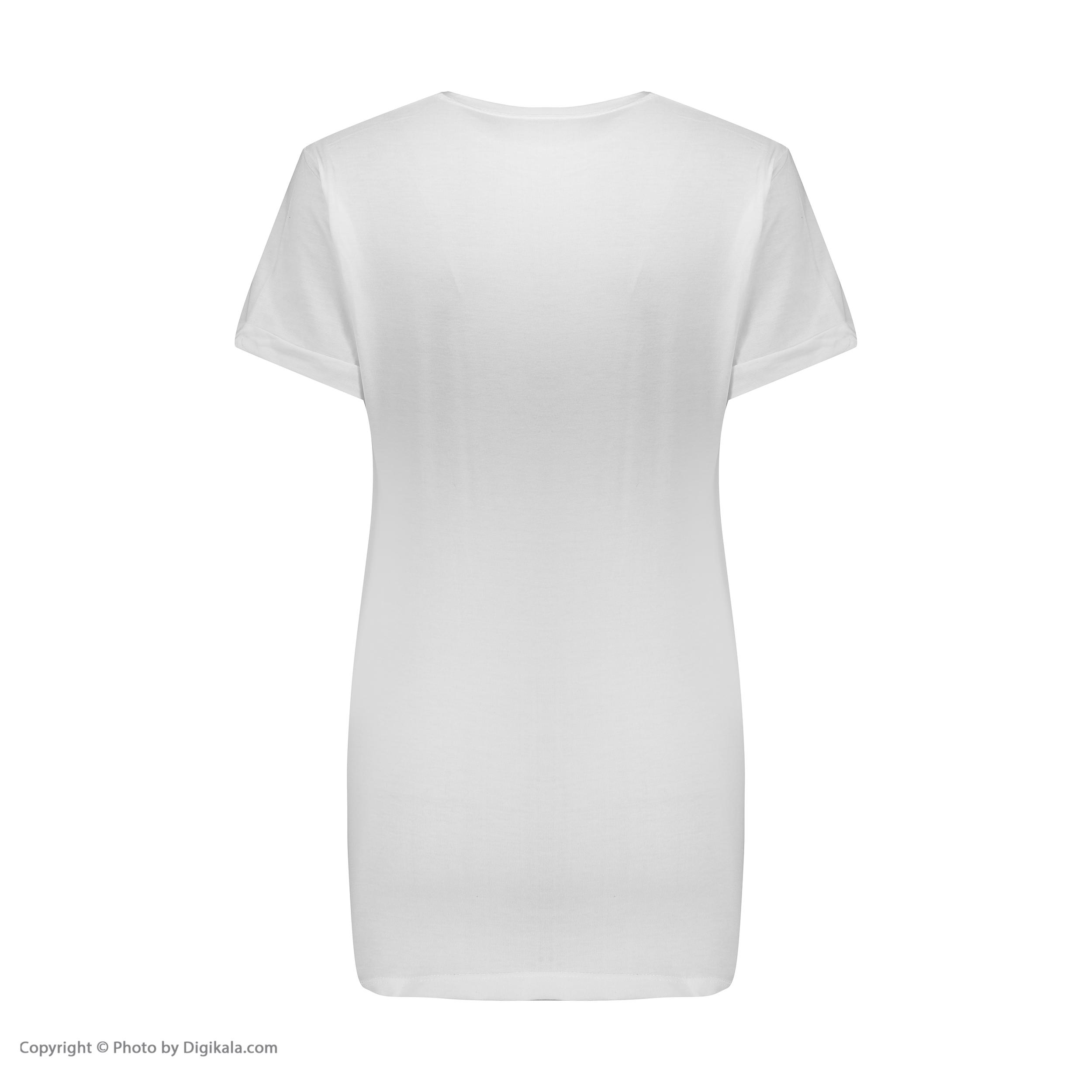 تی شرت آستین کوتاه زنانه مدل Q4