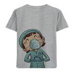 تی شرت پسرانه مدل آستین کوتاه پسر و ماسک M63