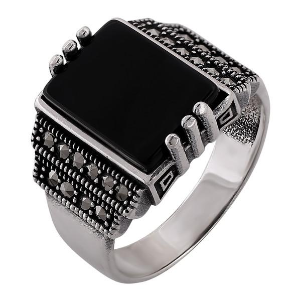 انگشتر نقره مردانه کد R3191