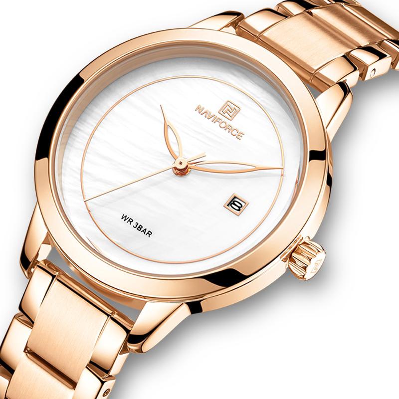 خرید و قیمت                      ساعت مچی  زنانه نیوی فورس مدل NF5008L - RZ-SE