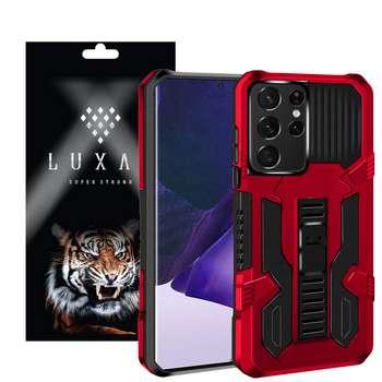 کاور لوکسار مدل kikstand-100 مناسب برای گوشی موبایل سامسونگ Galaxy S21 Ultra
