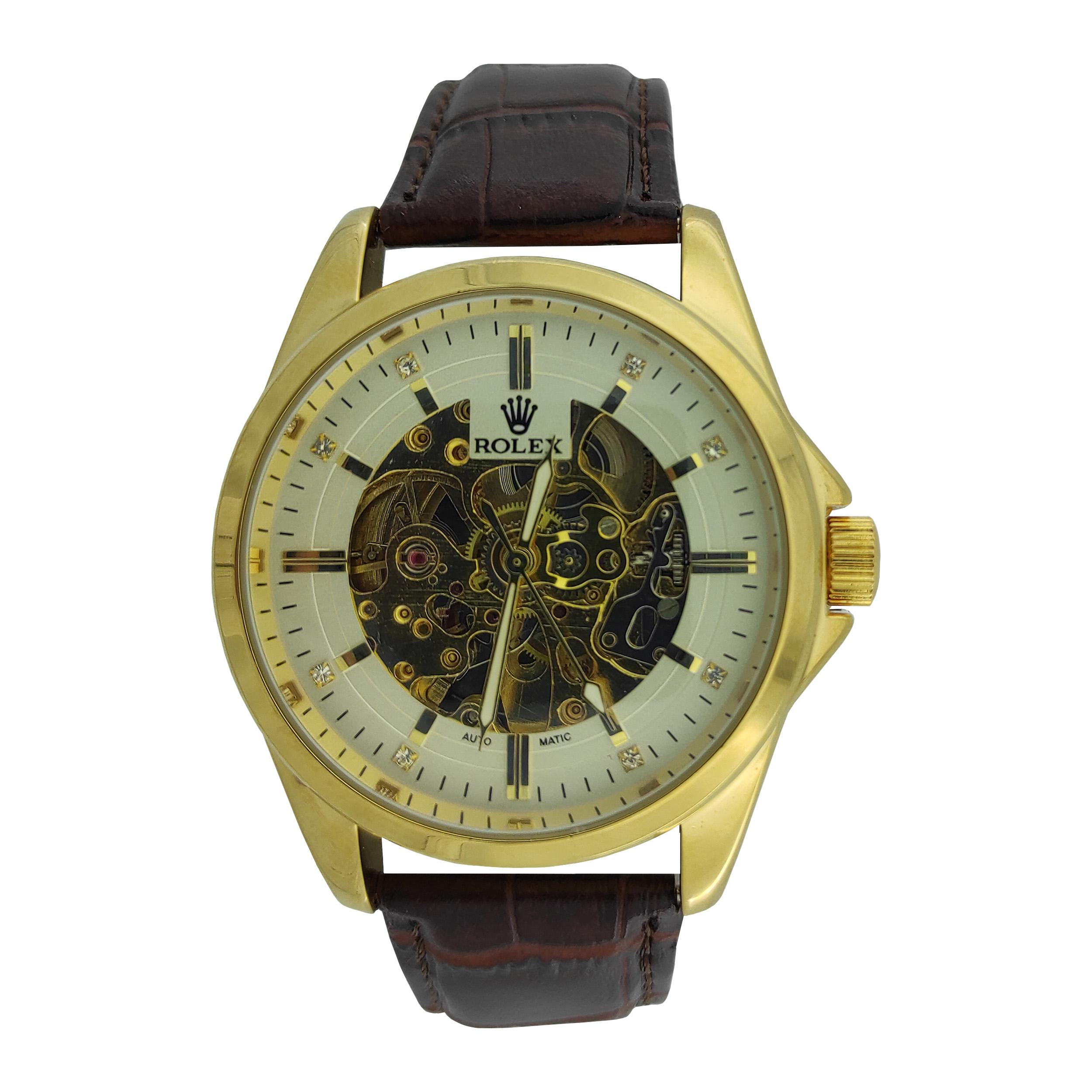 قیمت و خرید                      ساعت مچی عقربهای مردانه رولکس مدل R104