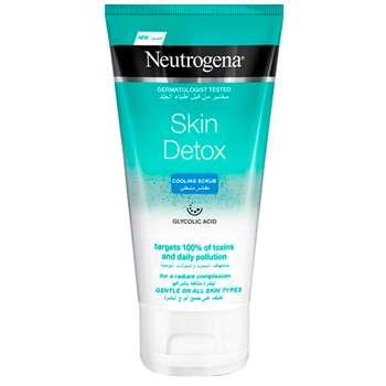اسکراب لایه بردار پوست نوتروژینا مدل Skin Detox حجم 150 میلی لیتر