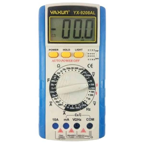 مولتی متر دیجیتال یاکسون مدل YX-9208AL