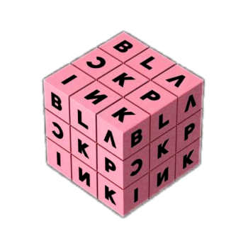 استیکر لپ تاپ مدل Black Pink کد ST-45
