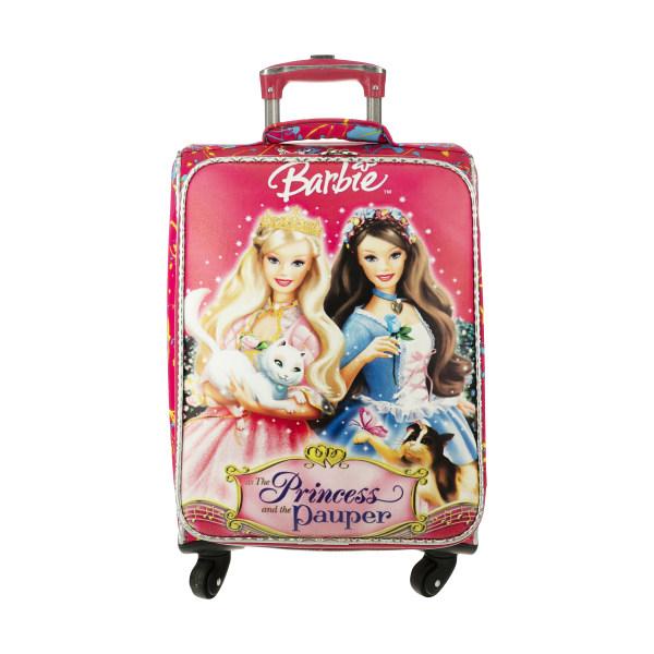 چمدان کودک مدل باربی ۱۰۲